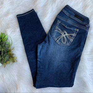Wallflower   Blue skinny jeans size 7